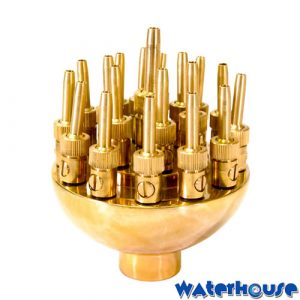 Brass Adjustable Fireworks Nozzle