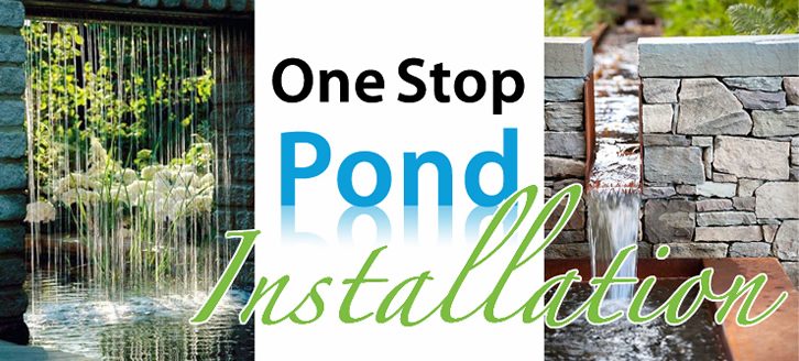 One Stop Pond Installations