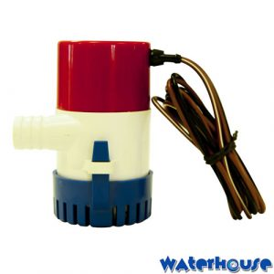 Non-Automatic fully submersible 12 volt DC bilge pump - Solar Powered Pump