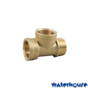 3 Way connector flexi hose