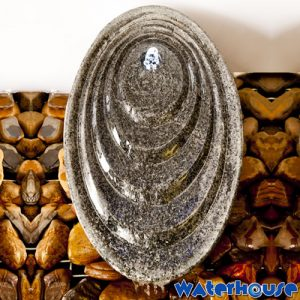 Granite Sloping Egg Water Feature