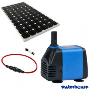 9000L/h solar powered pump