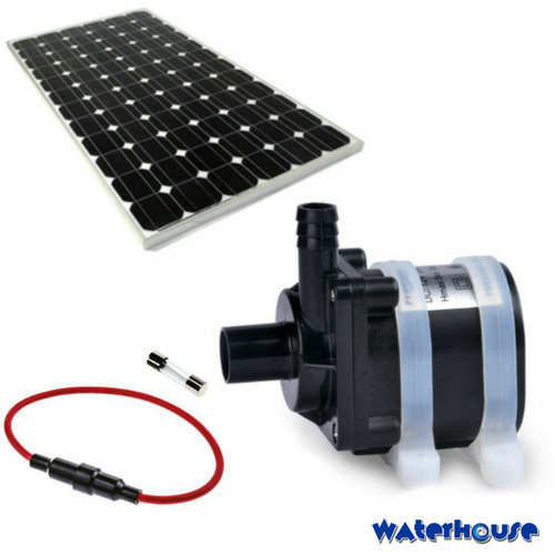 5m High Solar Water Pump And Panel